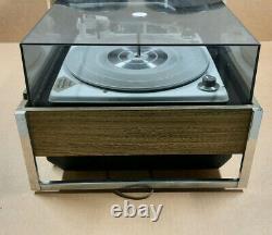 Zenith Circle Of Sound Turntable Solid State Stéréo Phonograph Avec Haut-parleurs